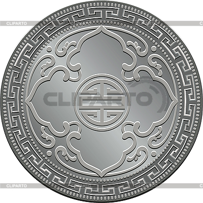 Great Britain trade dollar silver coin | Stock Vector Graphics |ID 3054479