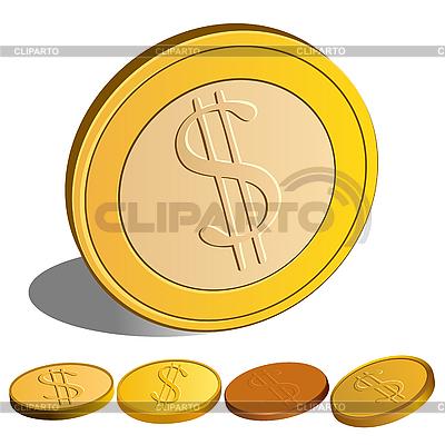 Zestaw Dolar pieniędzy | Klipart wektorowy |ID 3059027