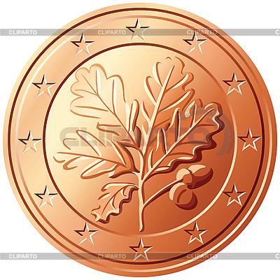 Money euro cent germany | Stock Vector Graphics |ID 3060128