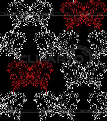 원활한 플로랄 패턴   벡터 클립 아트  ID 3070560