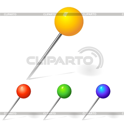Set of pinsors   Stock Vector Graphics  ID 3071512