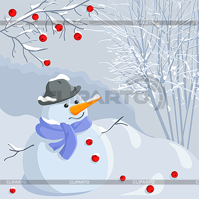 Snowman | Stock Vector Graphics |ID 3081356