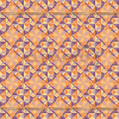 Czerwony geometryczny wzór bez szwu | Klipart wektorowy |ID 3134111