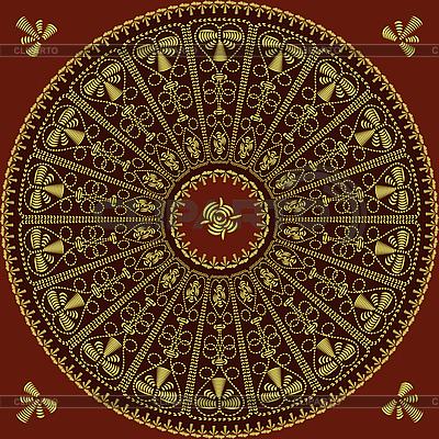 Circle lace pattern   High resolution stock illustration  ID 3168450