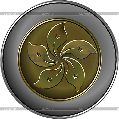 Chinese money gold and silver coin | Stock Vector Graphics |ID 3187352