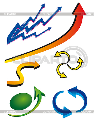 Collection of arrows   Stock Vector Graphics  ID 3059641