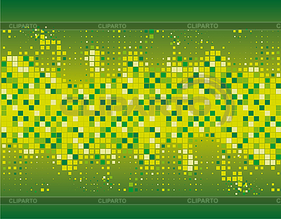 Abstract green mosaic background | Stock Vector Graphics |ID 3059647