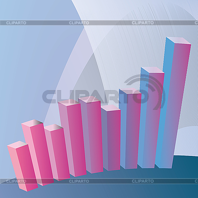 Color chart the growth of your business | Stock Vector Graphics |ID 3059650