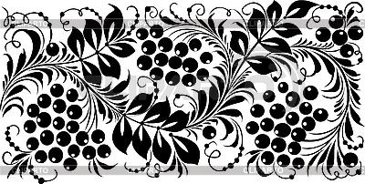 俄罗斯传统的以hohloma装饰 | 向量插图 |ID 3059908