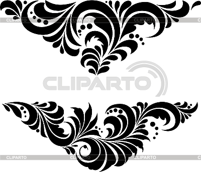 Russisches Chochloma-Ornament | Stock Vektorgrafik |ID 3059940