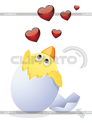 Chicken and Valentine's Day   Stock Vector Graphics  ID 3052581