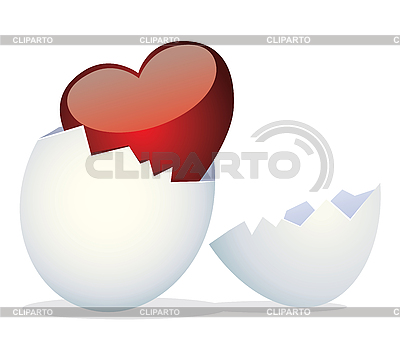 Egg and Valentine`s Day | Stock Vector Graphics |ID 3052585