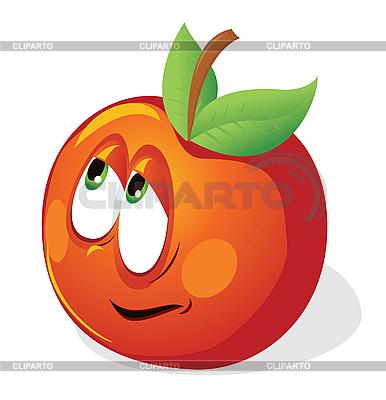 Fun cartoon apple | Stock Vector Graphics |ID 3052671