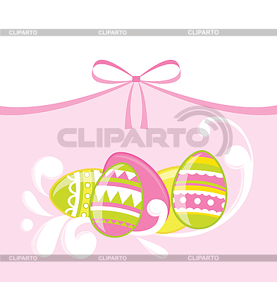 Easter eggs | Stock Vector Graphics |ID 3052699