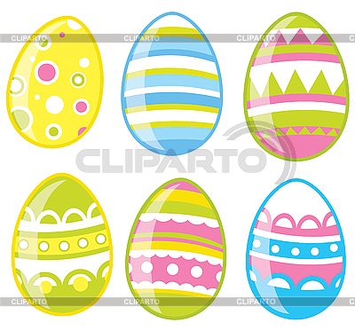 Easter eggs | Stock Vector Graphics |ID 3052701