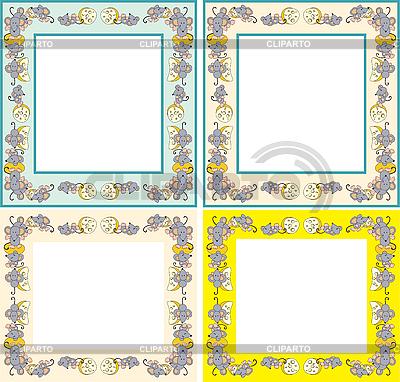 Rahmen mit Mäusen | Stock Vektorgrafik |ID 3053864