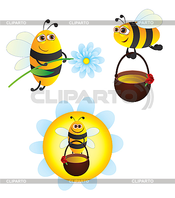 Bees | Stock Vector Graphics |ID 3053990