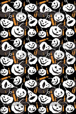 Halloween tła bez szwu | Klipart wektorowy |ID 3054120