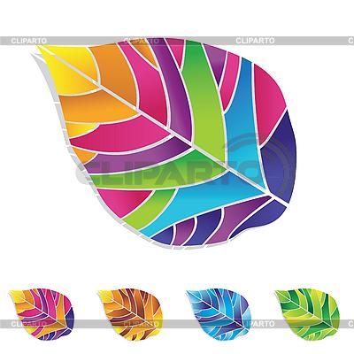 Kolorowe liście | Klipart wektorowy |ID 3054950
