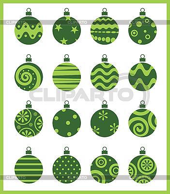 Christmas balls | Stock Vector Graphics |ID 3054986