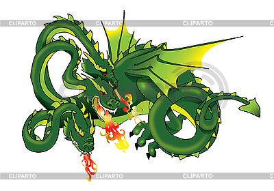Three-headed dragon | High resolution stock illustration |ID 3056178