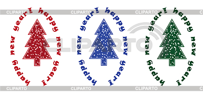 Christmas trees   Stock Vector Graphics  ID 3056189