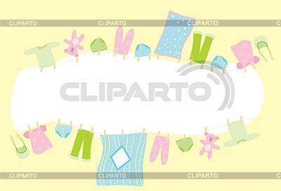 Baby frame | Stock Vector Graphics |ID 3057032