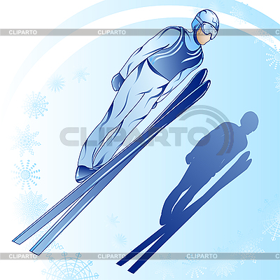 Jumps from springboard   Stock Vector Graphics  ID 3053570