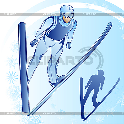 Skispringen | Stock Vektorgrafik |ID 3053572