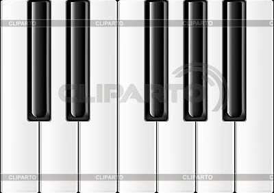 Piano keyboard | Stock Vector Graphics |ID 3062522
