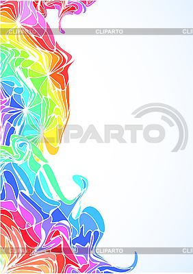 다채로운 수직 꽃 디자인 | 벡터 클립 아트 |ID 3063008