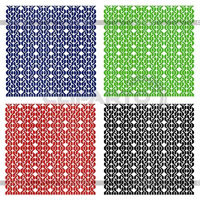 Farbige nahtlose Muster | Stock Vektorgrafik |ID 3078343