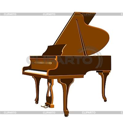 Piano de cola | Ilustración vectorial de stock |ID 3078359