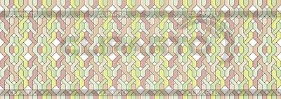 Geflochtenes horizontales Muster | Stock Vektorgrafik |ID 3082103