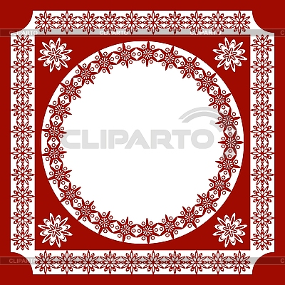 Pattern of ethnic style frame | Stock Vector Graphics |ID 3088404