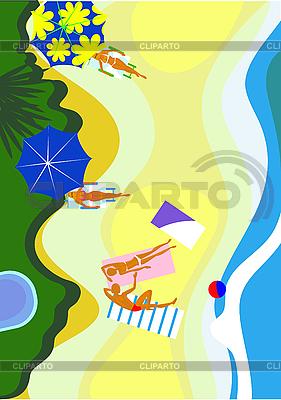 Plaża | Klipart wektorowy |ID 3058071
