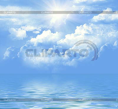 Sea and sky | High resolution stock photo |ID 3052777
