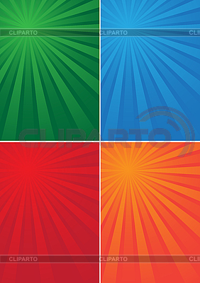 Backgrounds with colored rays | Stock Vector Graphics |ID 3058942