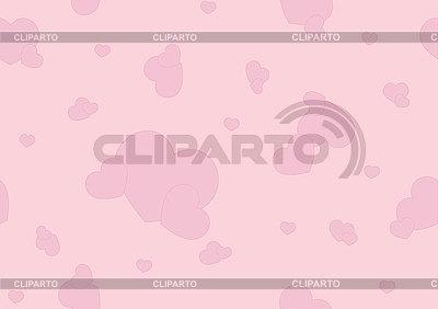 핑크 하트와 원활한 패턴 | 벡터 클립 아트 |ID 3121782