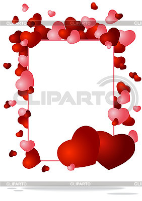 Frame with hearts | Stock Vector Graphics |ID 3125706