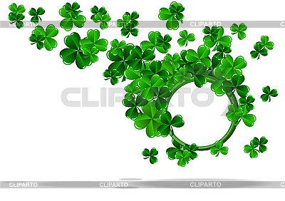 Okrągłe ramki do dnia St Patrick `s | Klipart wektorowy |ID 3132798