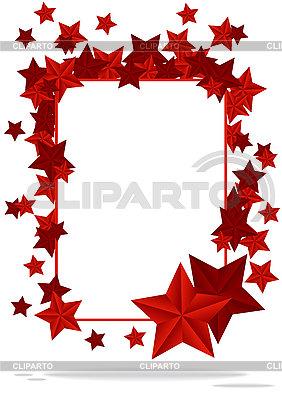 Ramka z gwiazdami | Klipart wektorowy |ID 3141830