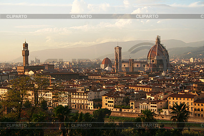 Florence at sunset | High resolution stock photo |ID 3104883