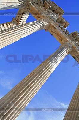 Turcja. Side. Ruiny świątyni Apolla | Foto stockowe wysokiej rozdzielczości |ID 3109211