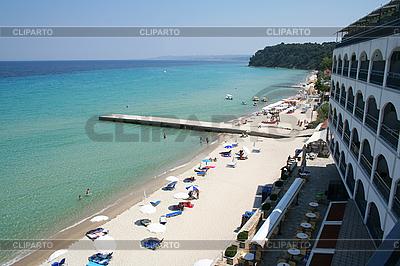 Greece. Halkidiki. Beach    High resolution stock photo  ID 3110140