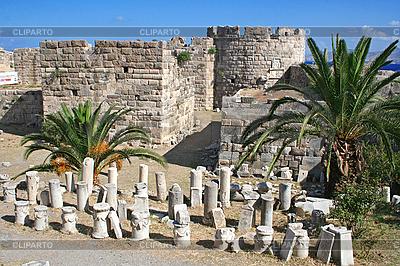 Griechenland. Kos. Schloss des Ordens von St. Johannes | Foto mit hoher Auflösung |ID 3110230