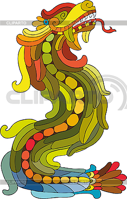 Rainbow smok | Klipart wektorowy |ID 3211783