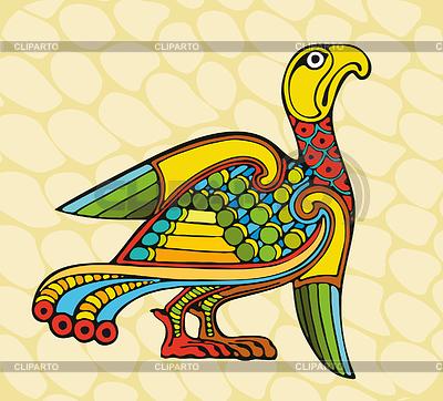 Motley Celtic Bird | Stock Vector Graphics |ID 3280388