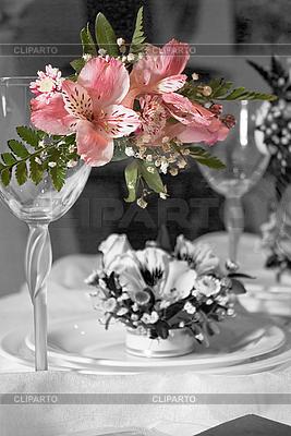 Wedding glasses   High resolution stock photo  ID 3062388
