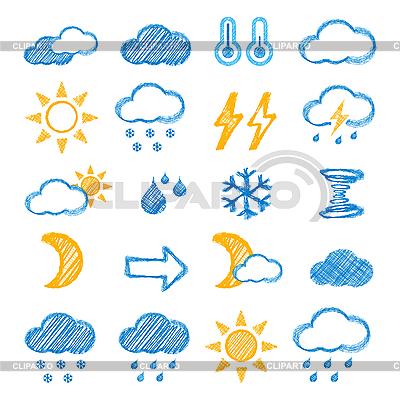 Wetter-Icons | Illustration mit hoher Auflösung |ID 3138276